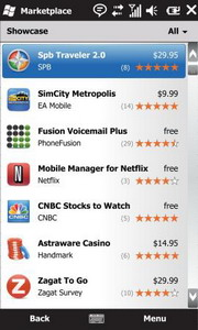 Marketplace для Windows Mobile